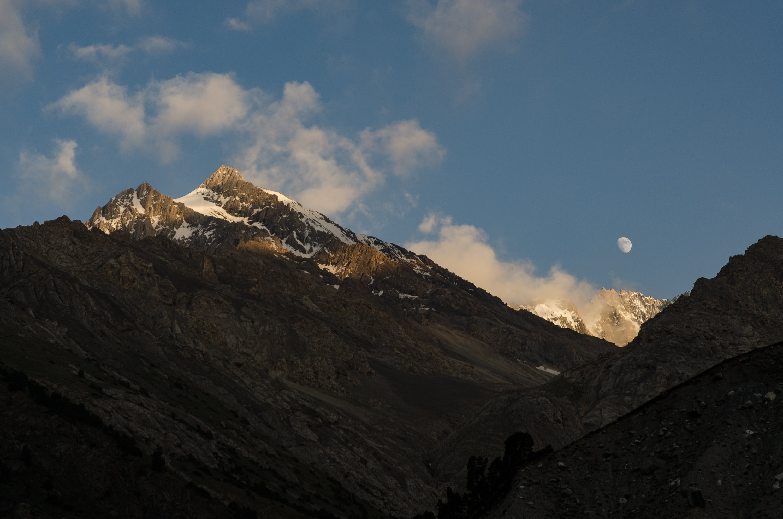 горы, пейзаж, Курлов Алексей