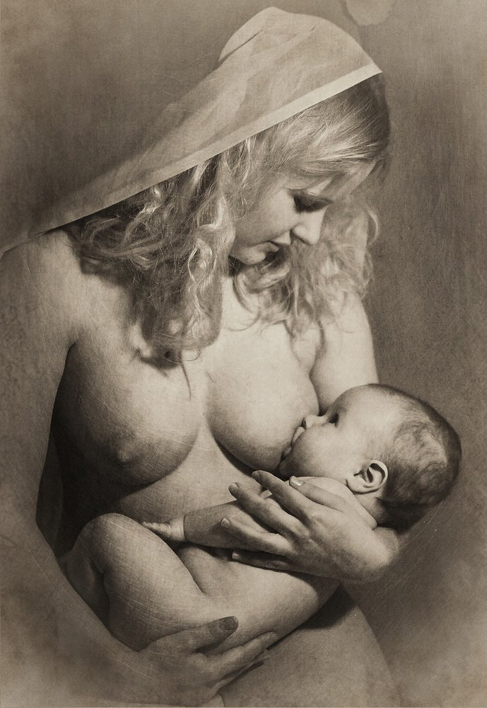 женщина, ребенок, материнство, АЛЕКСАНДР ТОЛЧИНСКИЙ