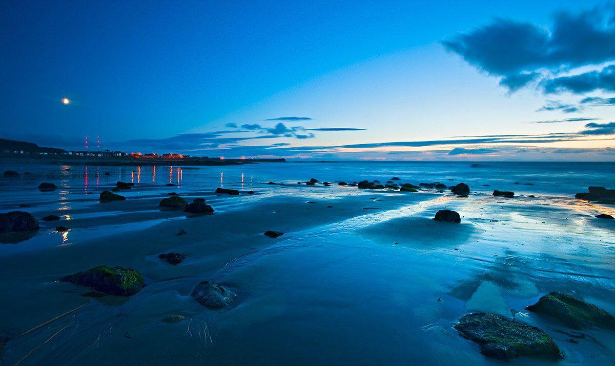 шотландия, море, вечер, Геннадий