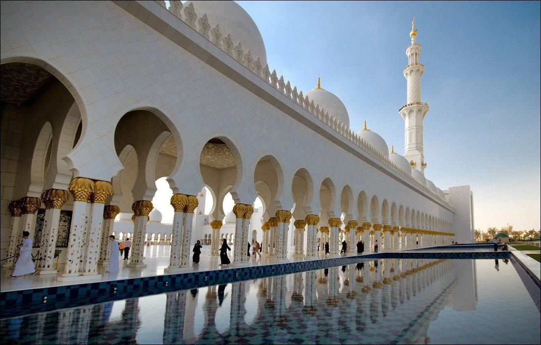 мечеть, абу-даби, i_GO