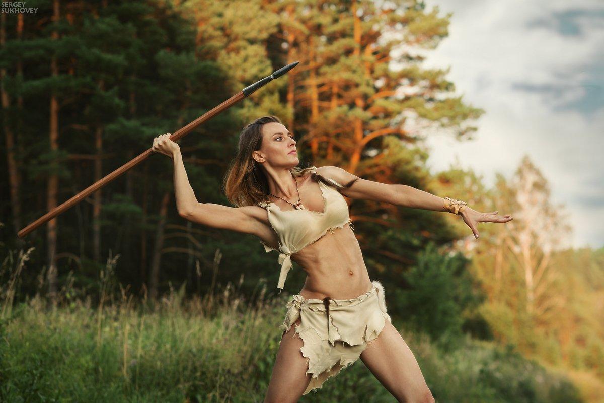 амазонка, амазонки, воительница, воин, копье, девушка воин, amazons, amazon, Сергей Суховей