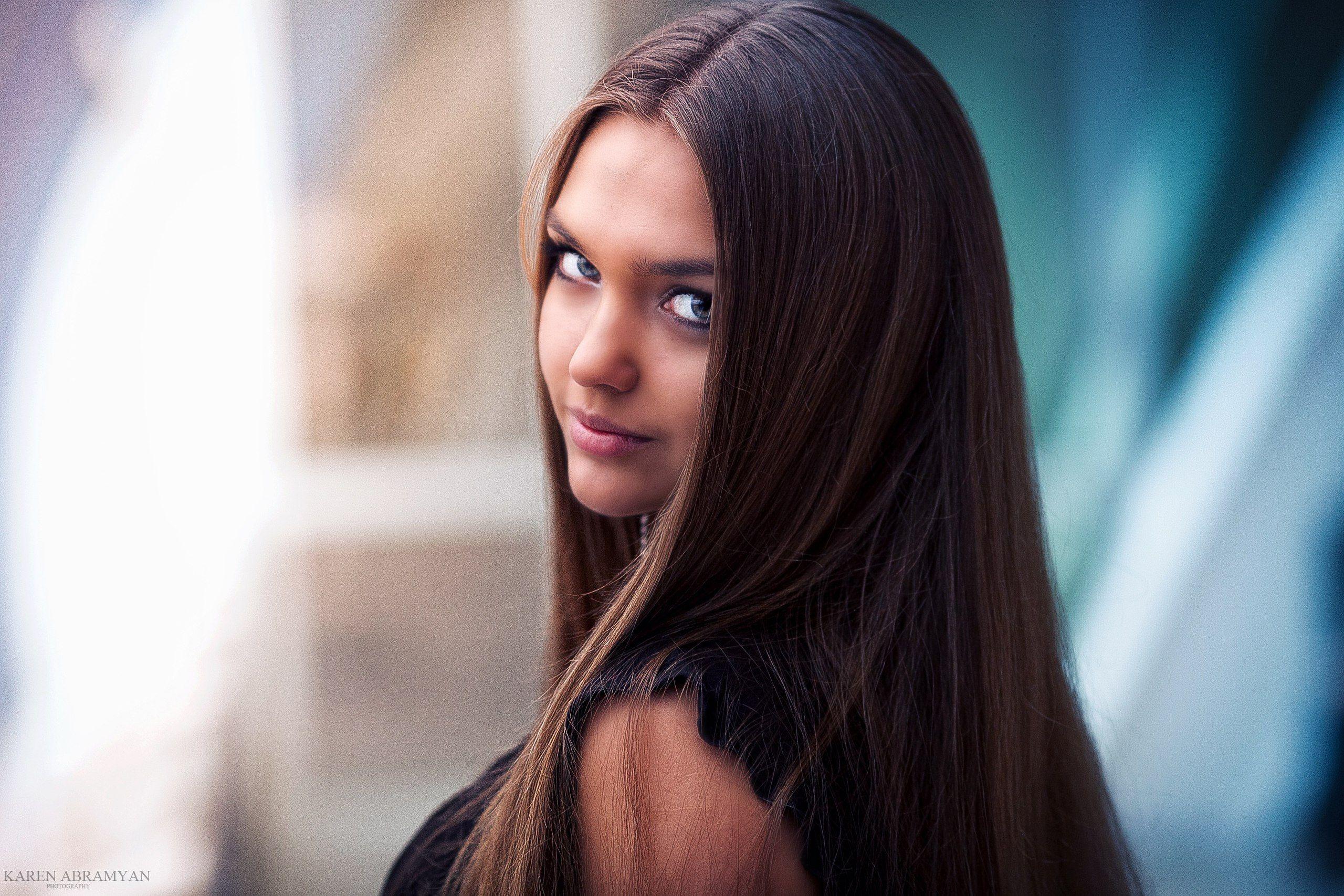karen abramyan,portrait,girl,hair,eyes, Abramyan Karen