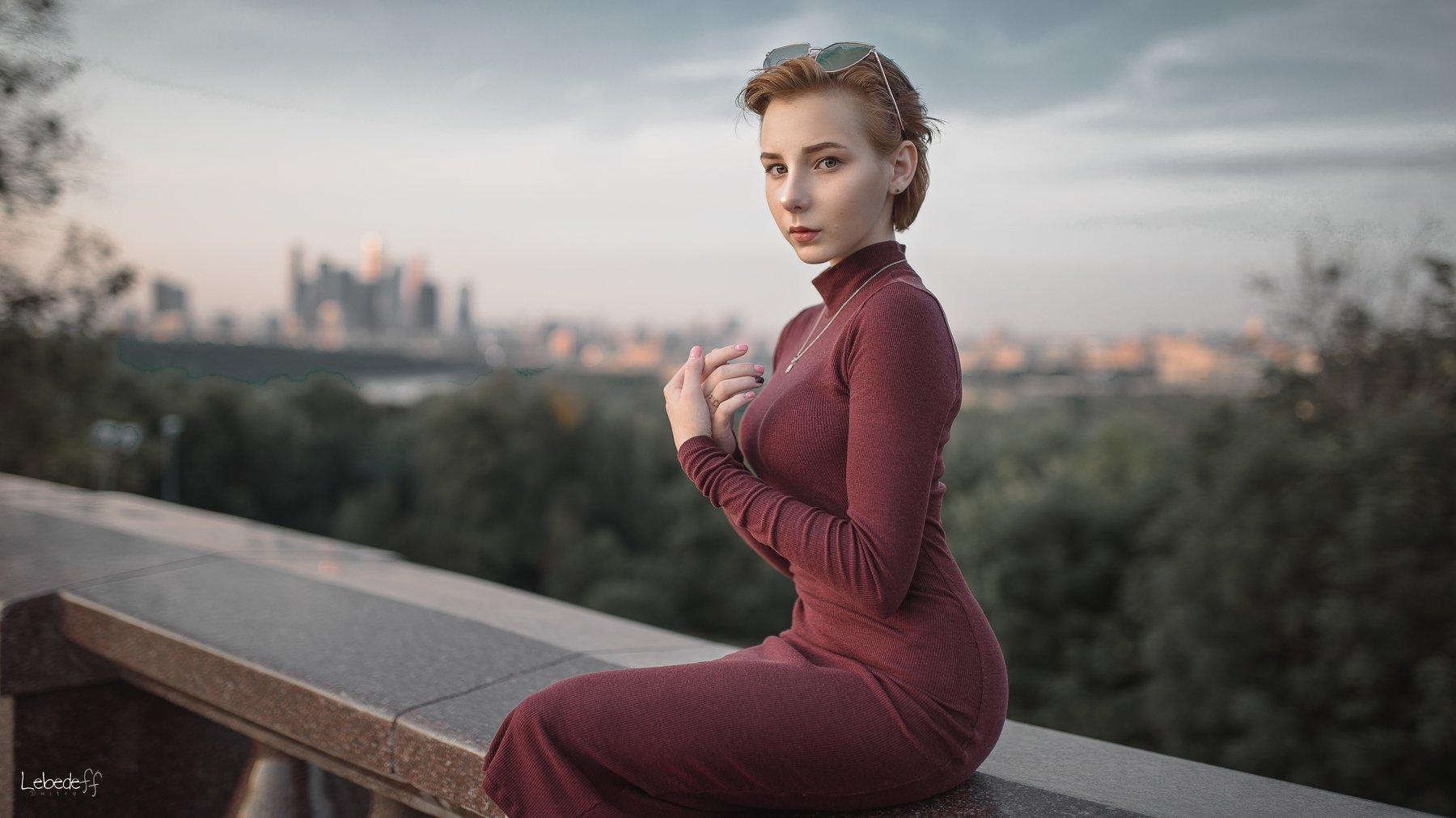 lady, портрет, art, model, Лебедев Дмитрий