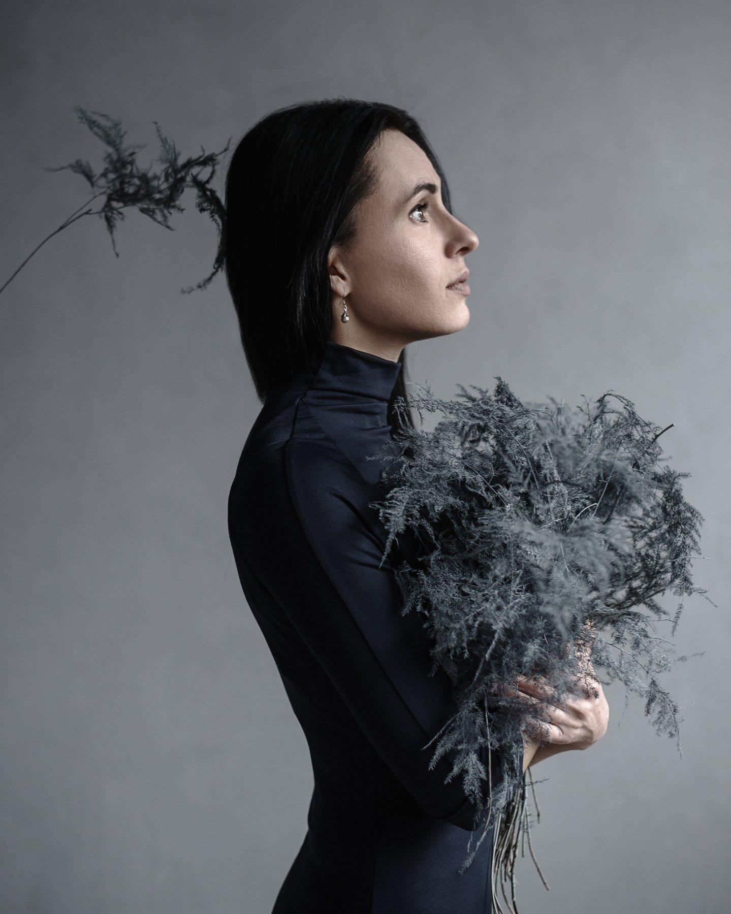 ботаника, ростения, женский портрет, натуральный свет,, Андрей