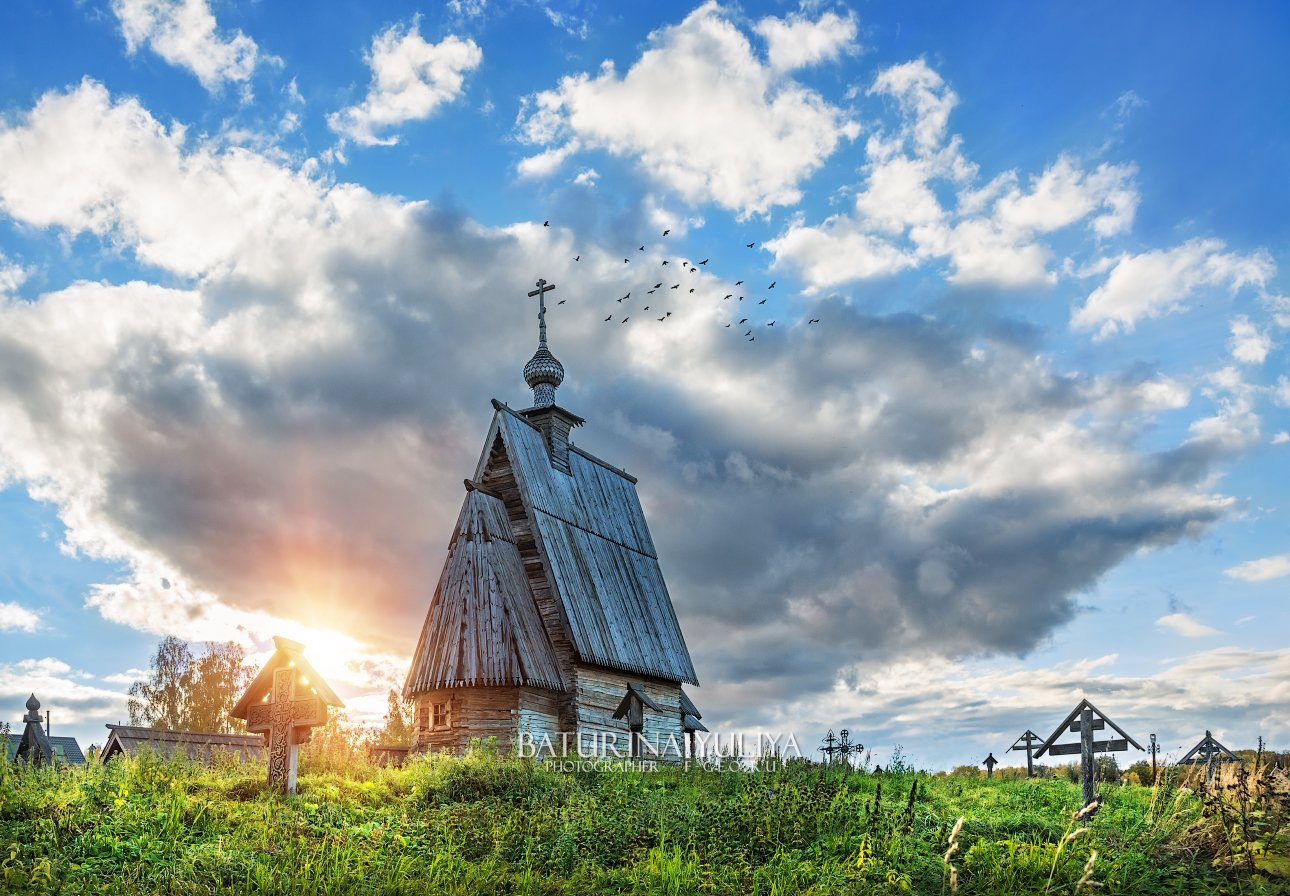 россия, плес, плёс, воскресенская церковь, гора левитана, Юлия Батурина