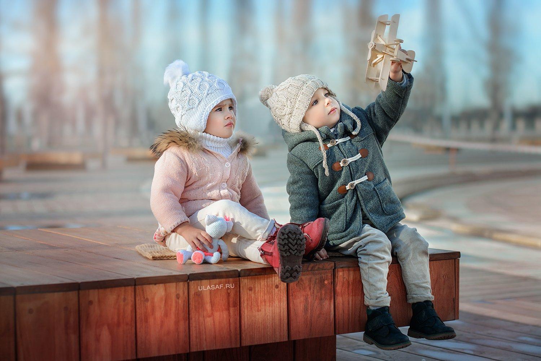 boy, girl, krasnodar, краснодар, portrait, мальчик, девочка, парочка, портрет, самолетик, Юлия Сафонова