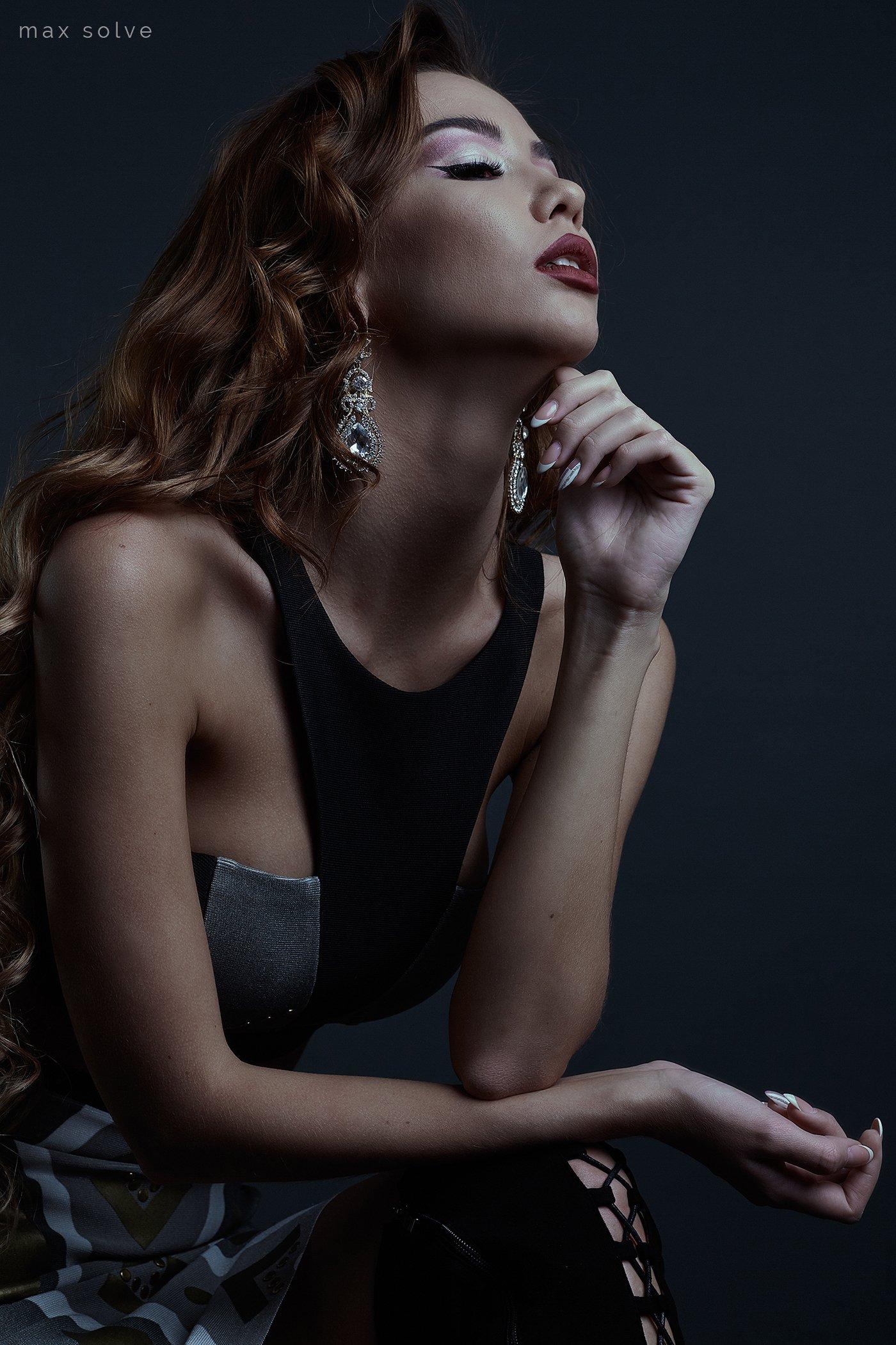 sexy, hot, fineart, studio, portrait, models, beauty, girls, girl, hair, девушка, студия, портрет, , Max Solve