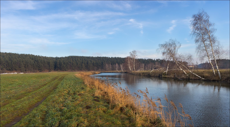 зима, река, декабрь 2017,, Сергей Шабуневич