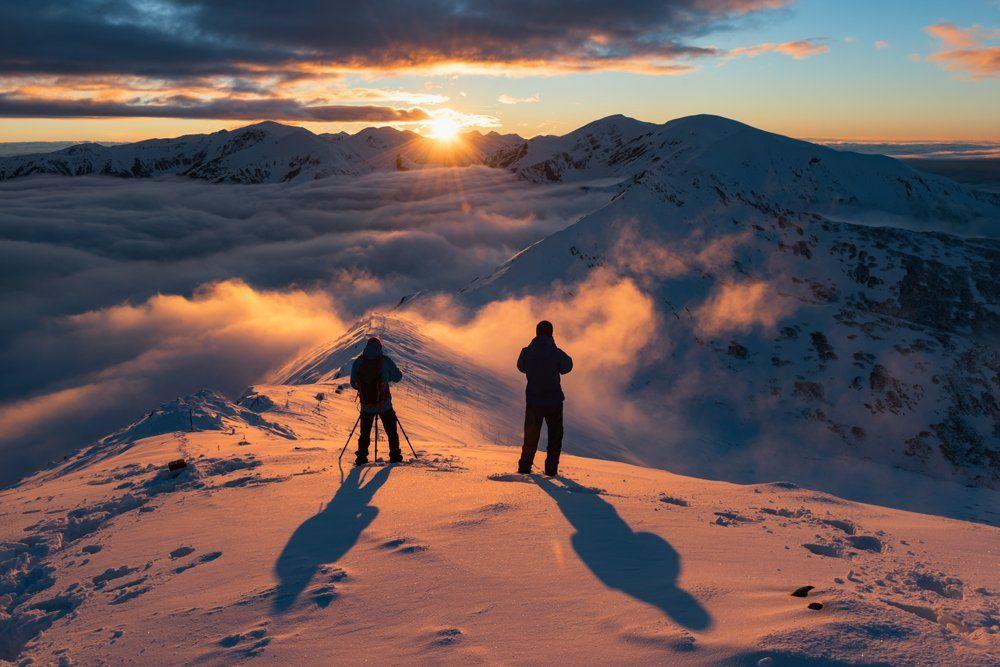 #landscape, #mountains, #poland, #tatras, #winter, #marcinkesek, #snow, #tatry, Marcin Kesek