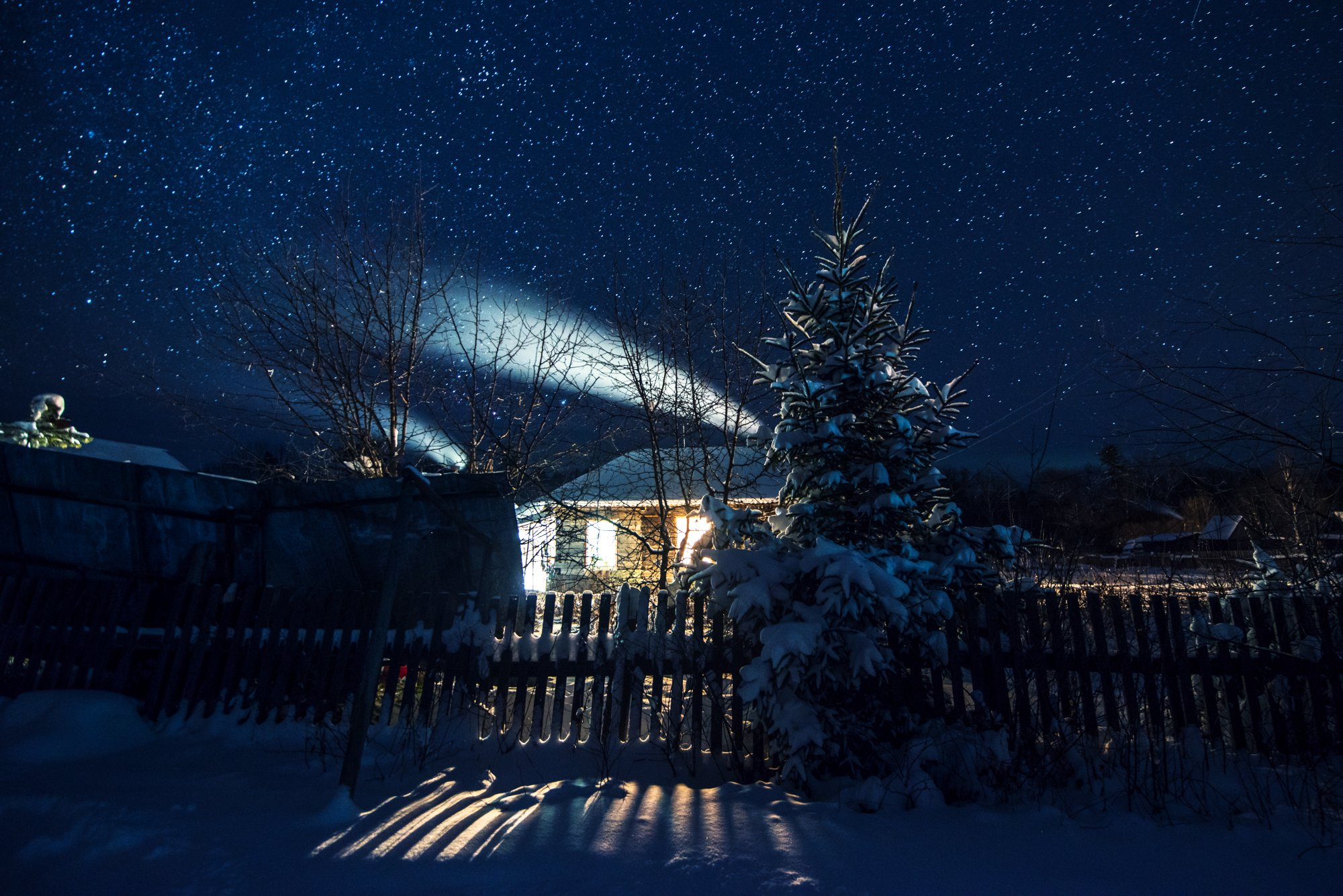 Ночь Звёзды Деревня, Виталий Берков