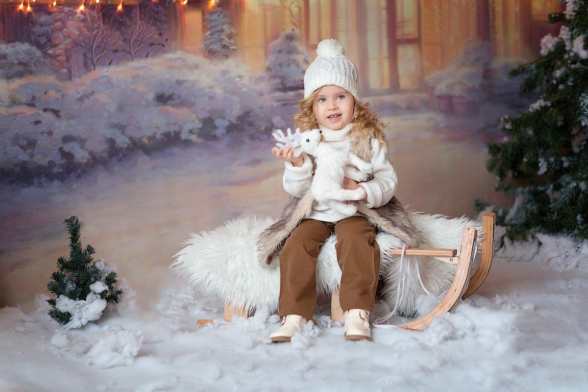 девочка,  детская и семейная фотосессия, детский и семейный фотограф, радость, восторг, счастье, фотосессия, маленькие дети, детское фото, детский фотограф, детский и семейный фотограф ольга францева, детское фото, детская фотосессия, праздник, новый год,, Францева Ольга