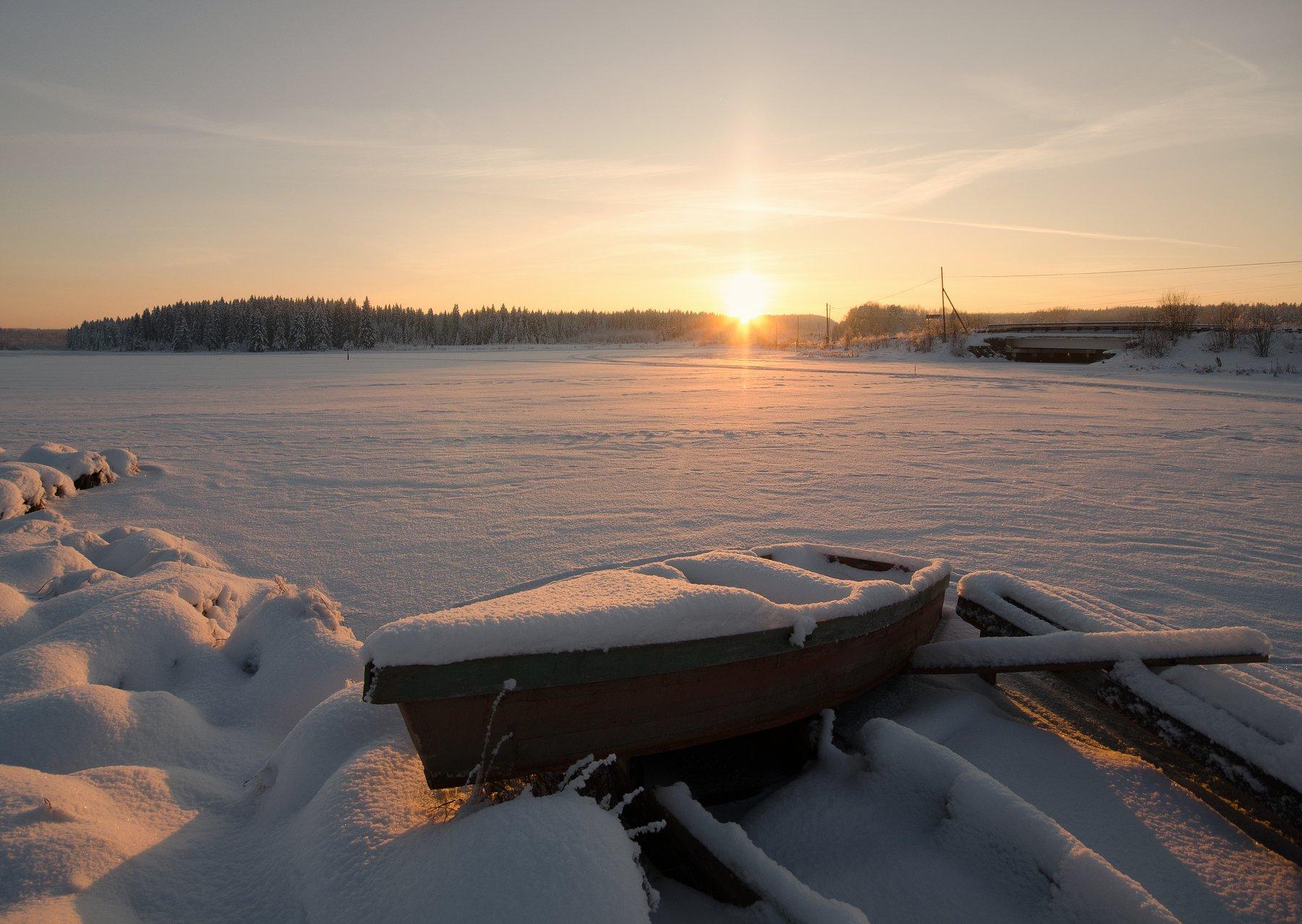закат,мороз,природа,вятка, Карепанов Евгений