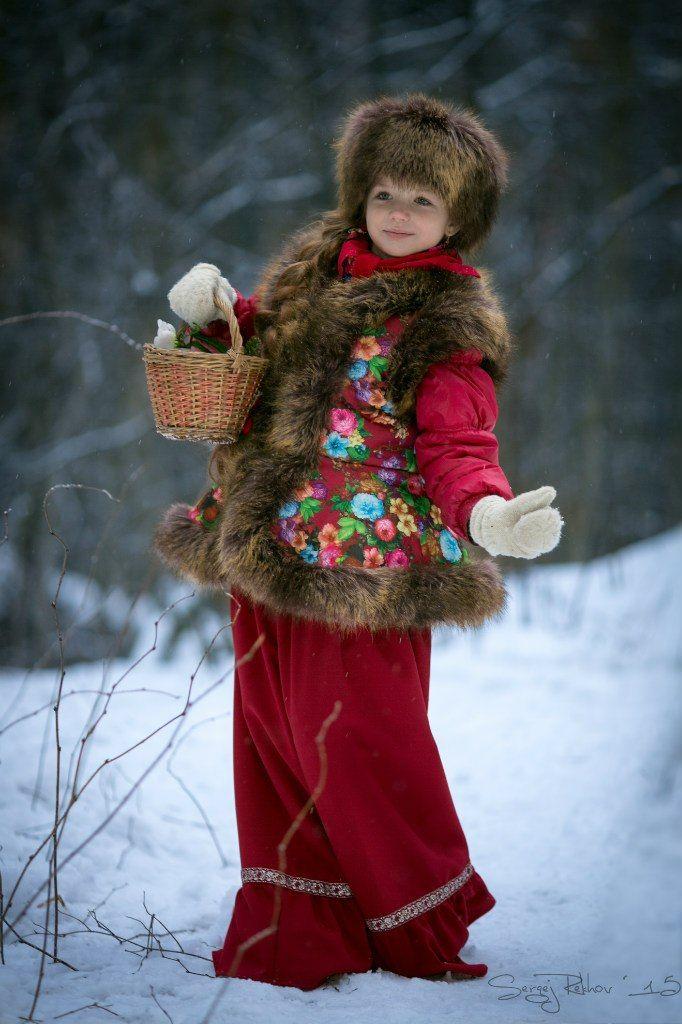 девочка, лес, фэнтази, морозко, рехов, сергейрехов, rekhov, sergejrekhov, Сергей Рехов