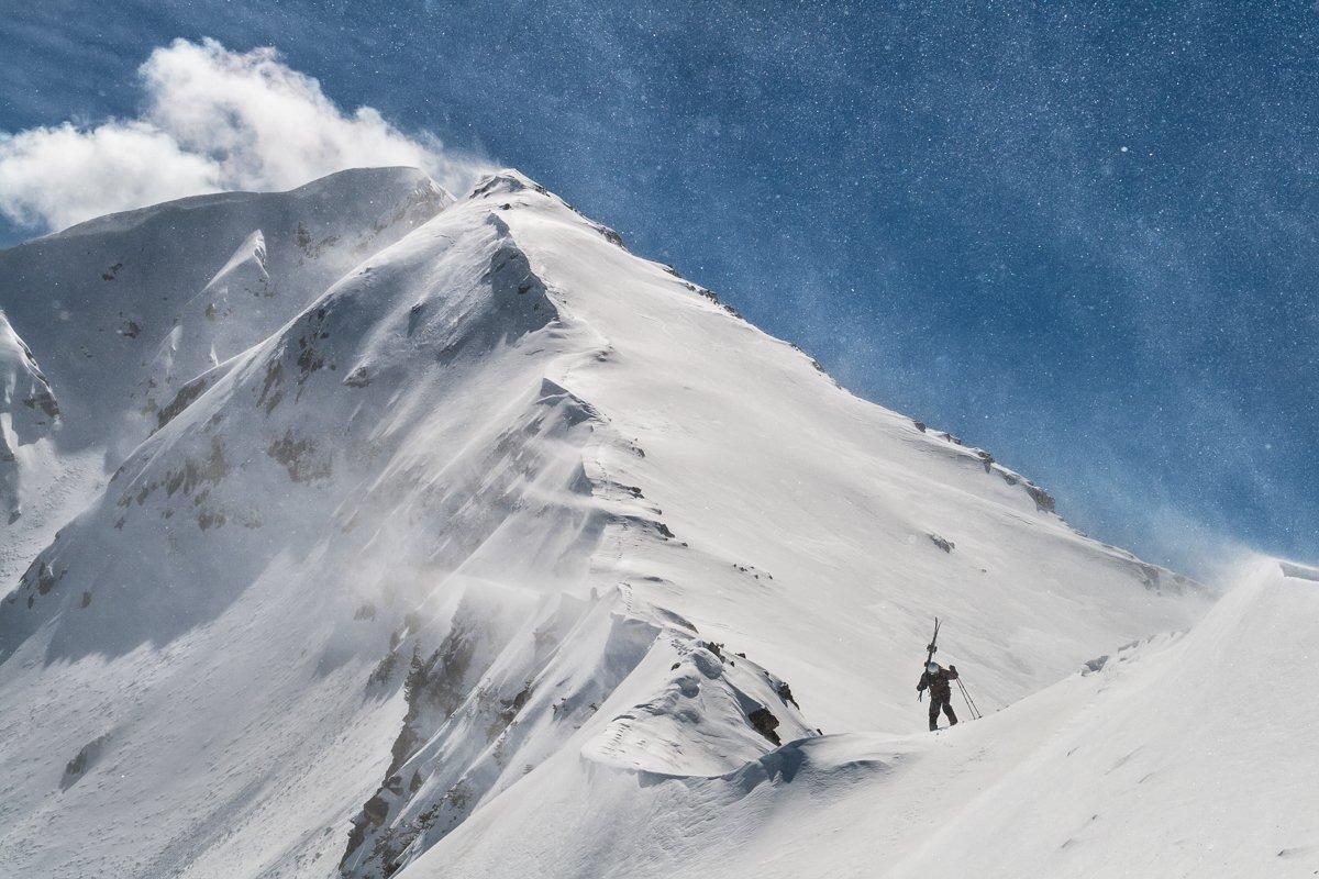 winter, mountain, Bulgaria, free-skiing, snow, wind, bansko , Добрин Минков
