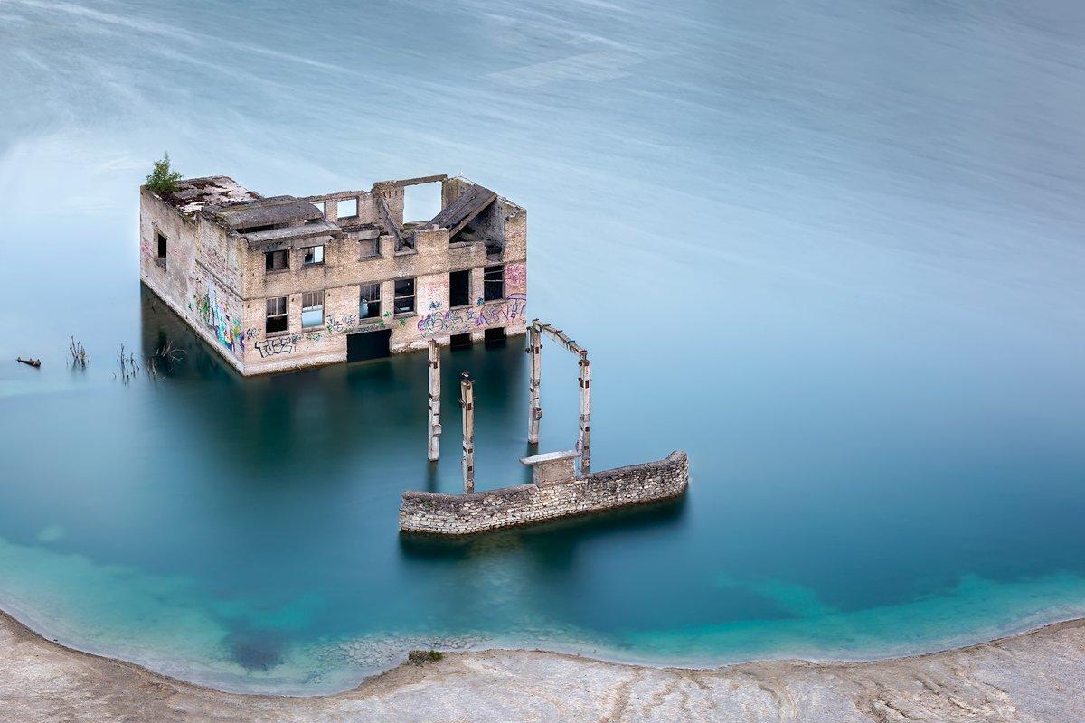 rummu, quarry;, quarry;, rummu;, estonia;, blue;, lake;, water;, abandoned;, old, prison;, underwater, Imre Aunapuu