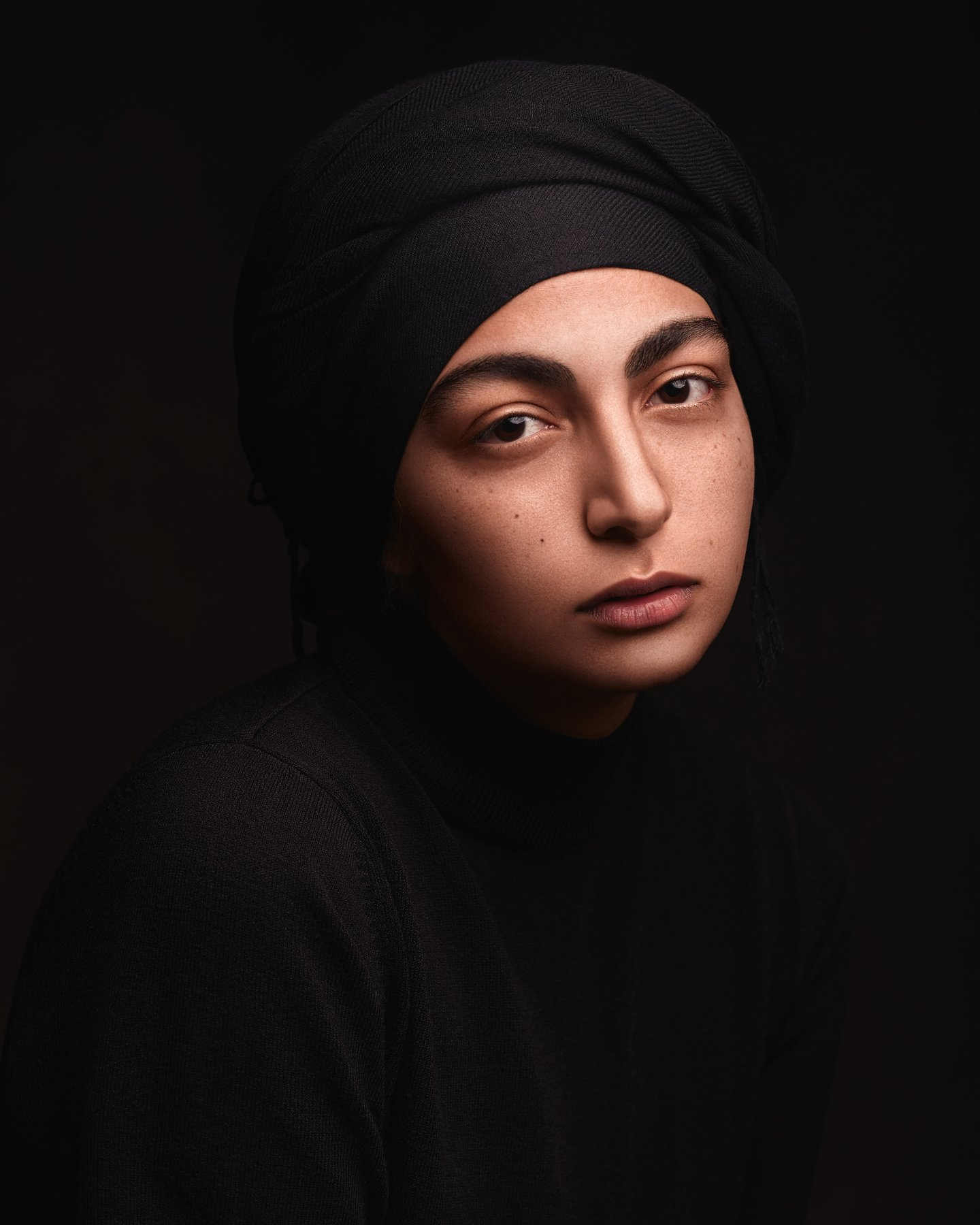 portrait, girl, beauty, eyes, lips, beautiful, studio, glamour, cute, pretty, style, eye, model, face, makeup, young, skin, colorful, colourful, headshoot, mahdan, mahdanalizadeh, MahDan Alizadeh