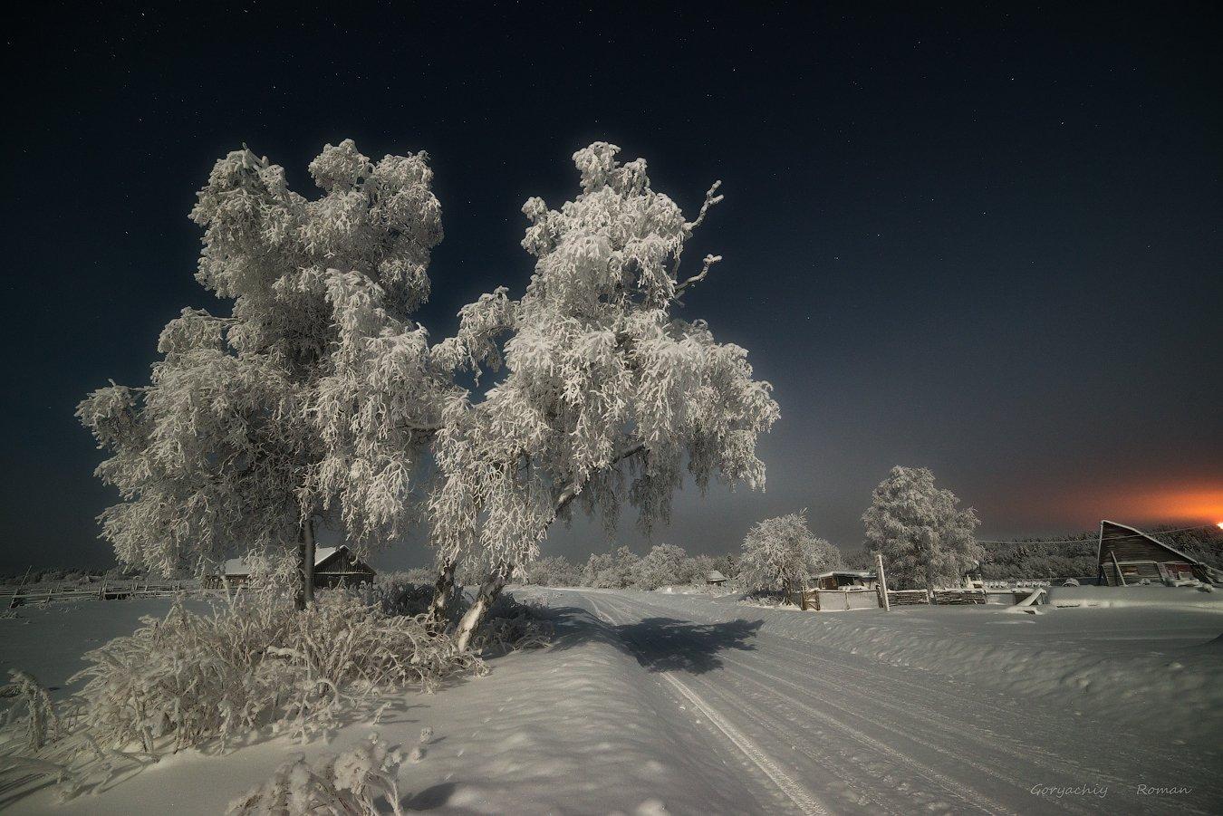 кольский, север,заполярье,ферма,зима,декабрь, апатиты, Роман Горячий