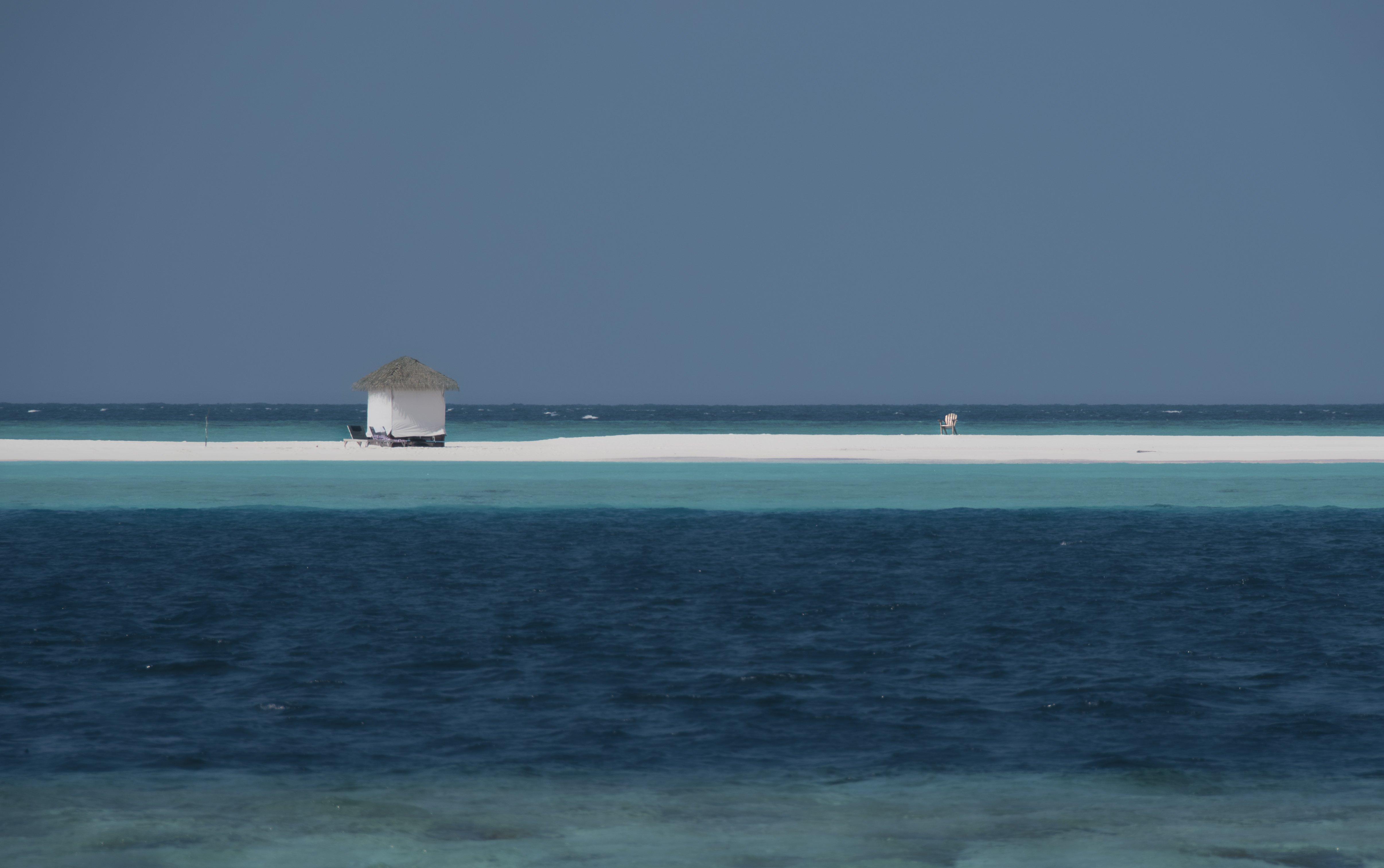 остров, тропики, песок, океан, отдых, небо, Babka Yoshka (в миру - Сергей)