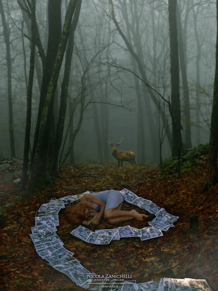 Elena Yuna Chiappini Fantasy deer forest, Nicola Zanichelli