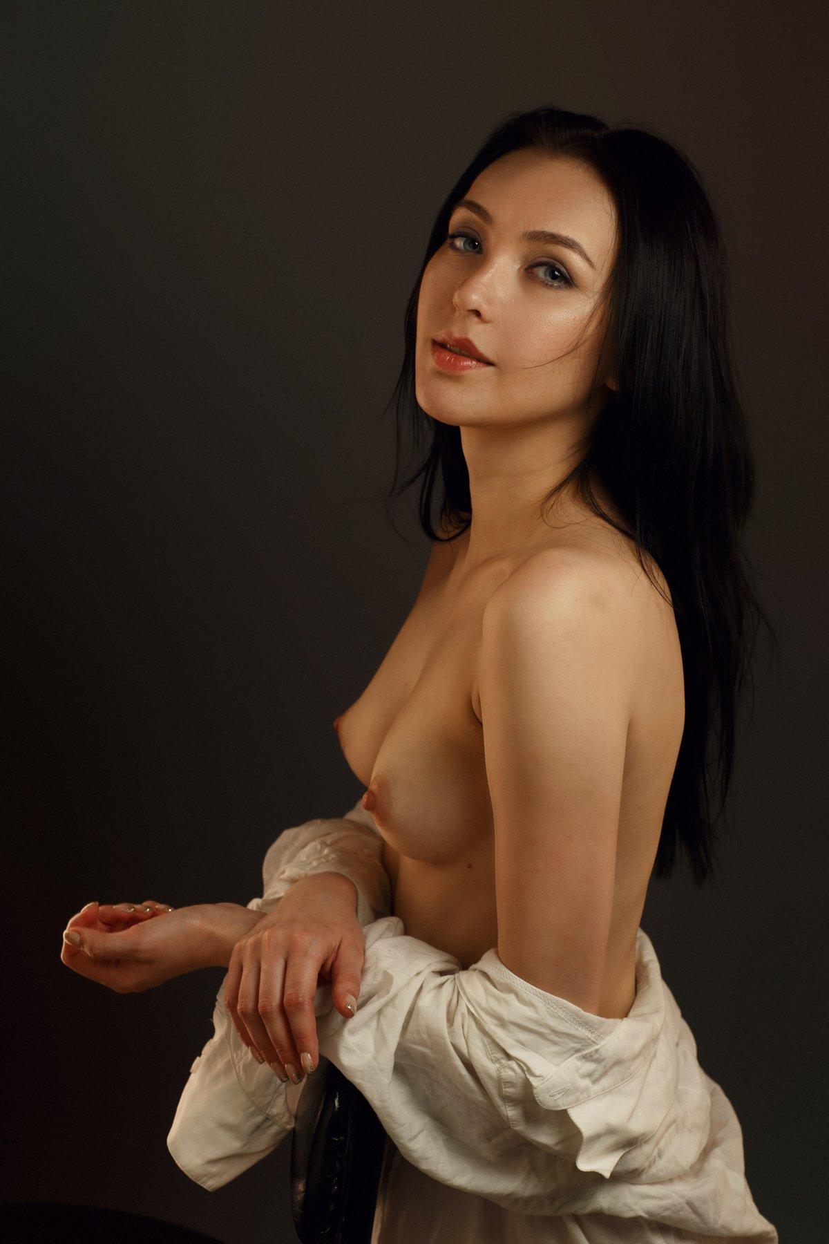 art, artnude beautiful, girl, light, nu, nude, sexy, studio, sweet, woman, ню, девушка, модель, ню, портрет, portrait, Сергей Сорокин
