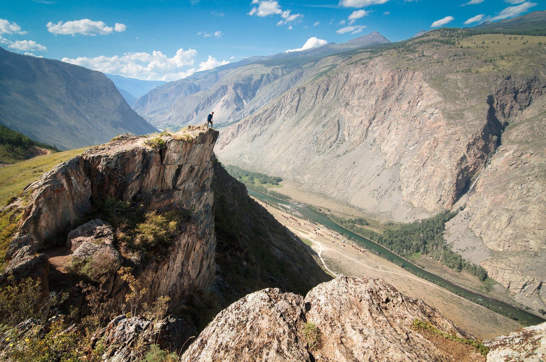 Алтай, Россия, пейзаж, вершина, горы, человек, портрет, Голубев Алексей