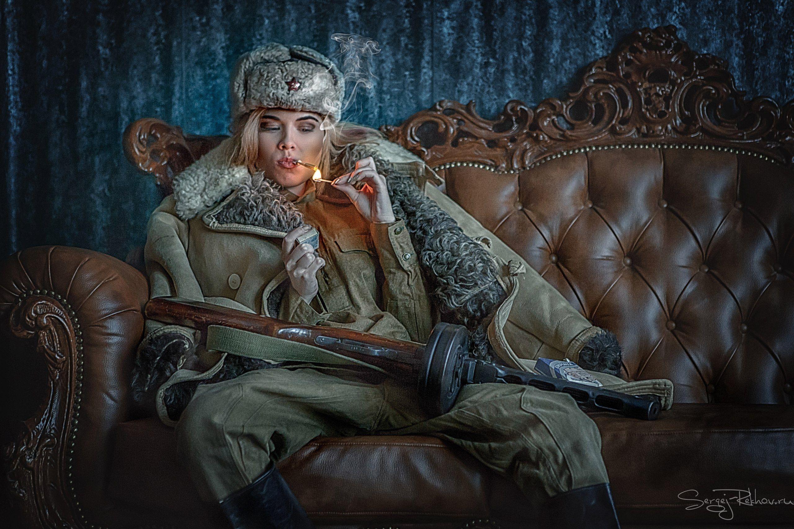 девушка, война, берлин, победа, папироса, рехов, сергейрехов, rekhov, sergejrekhov, Сергей Рехов