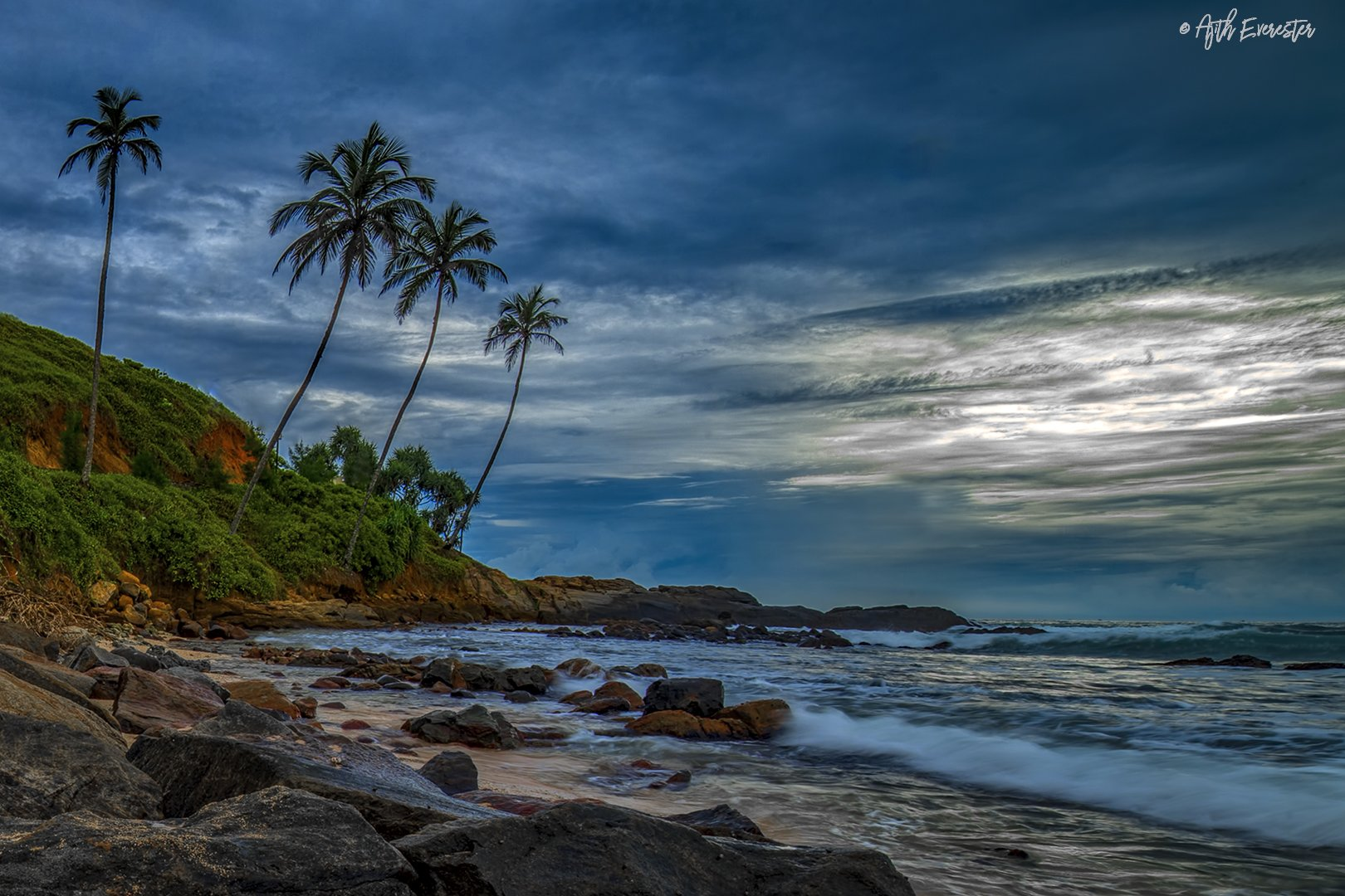 srilanka, nikon, evening sky, landscape, Ajith Everester