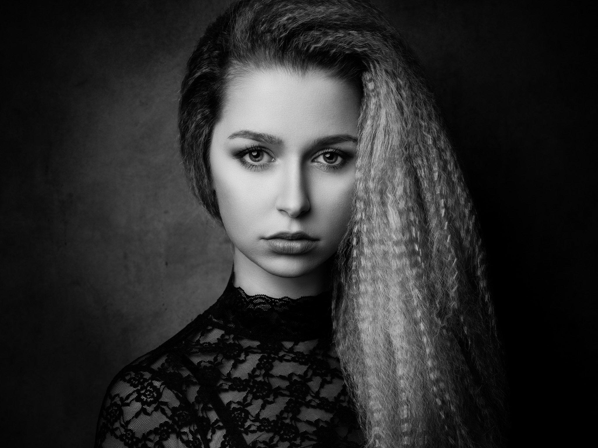Portrait, black & white, , Michael Schnabl