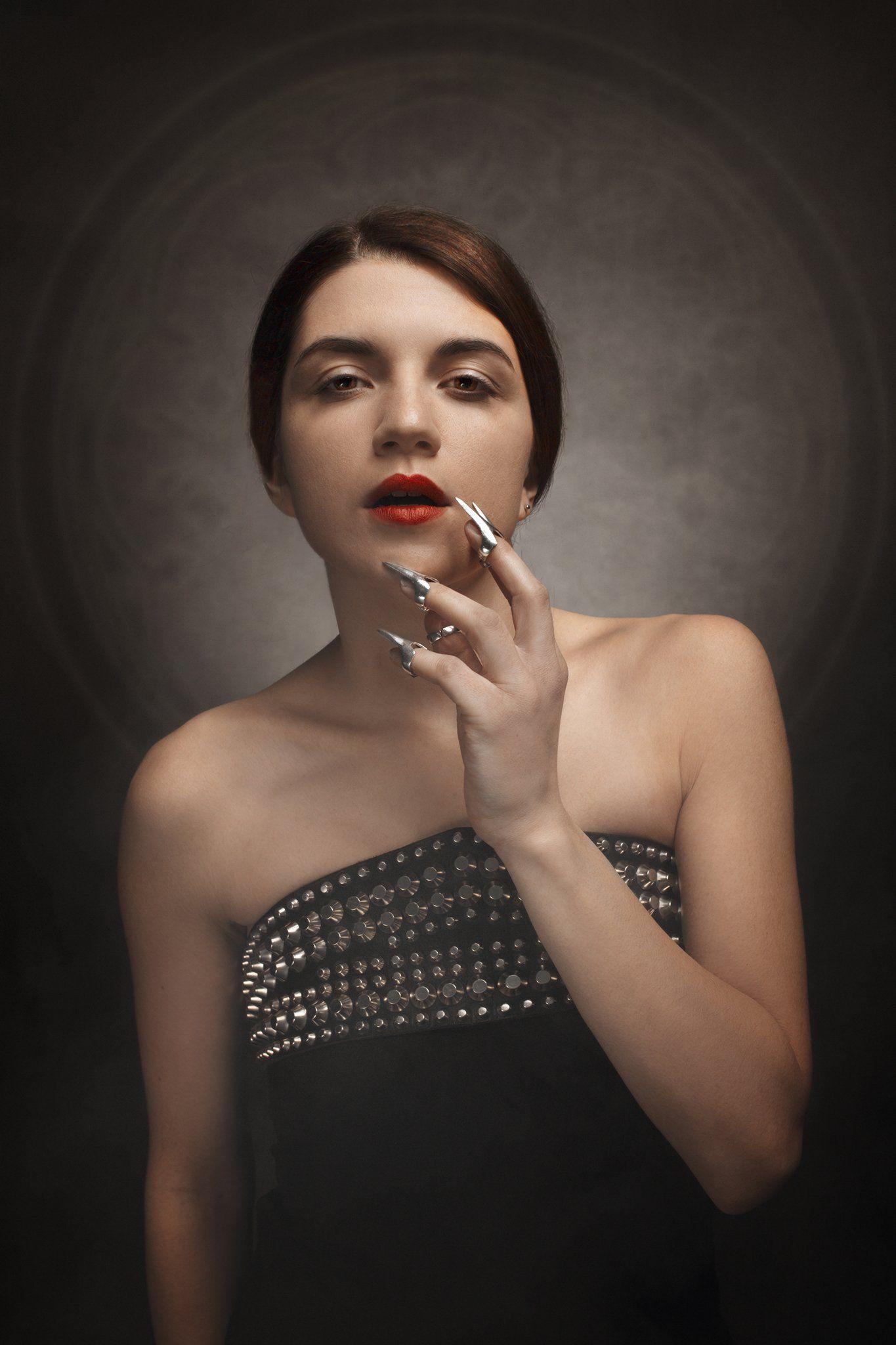 studio portrait light, Nina Janiak