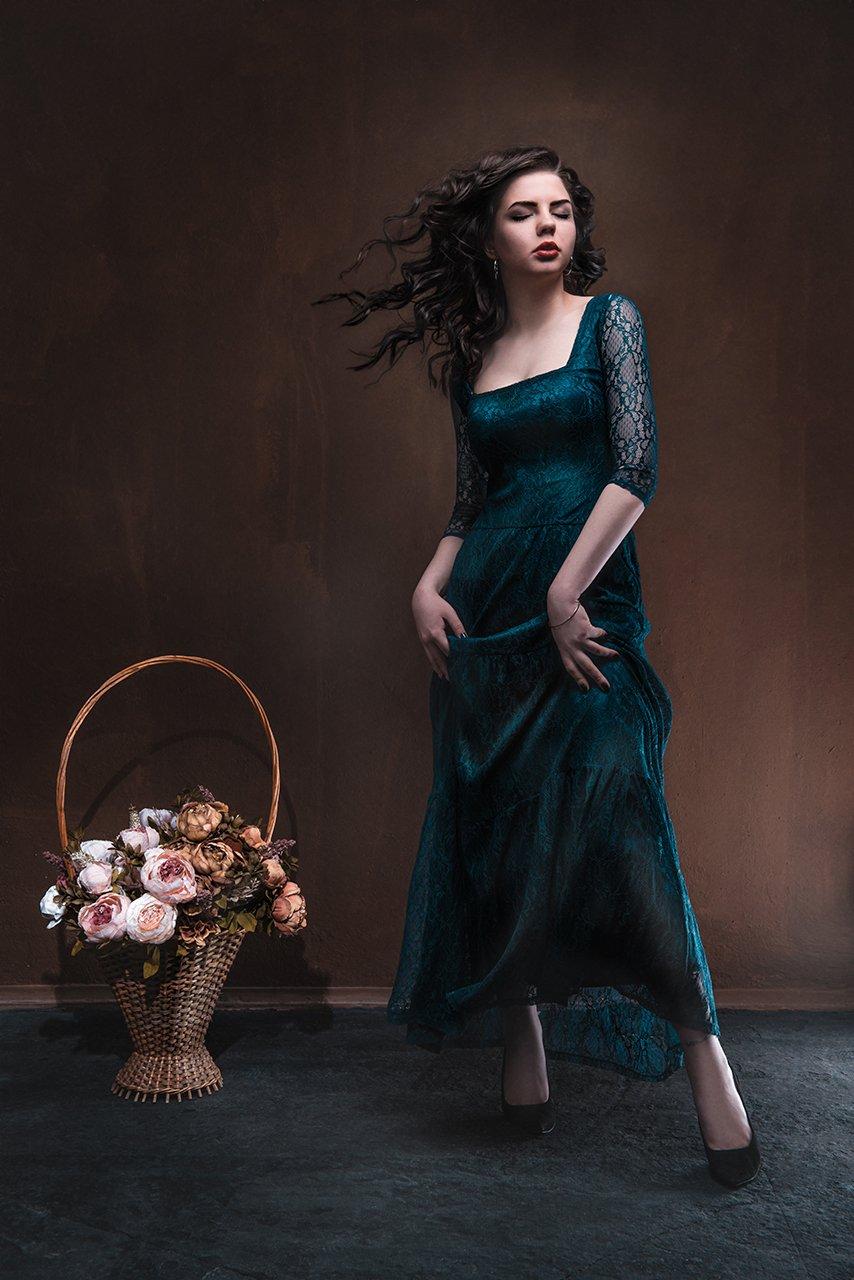 Студия,девушки,фотосессия,импульс,ветер,поза,цветы,портрет,полноростовой,ивантеевка, , vadim