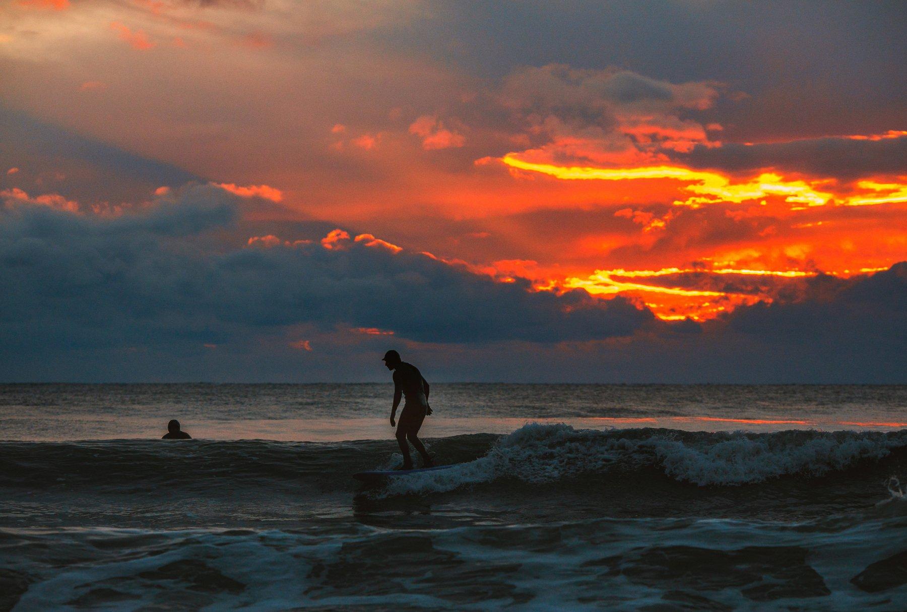 море серфинг сочи щторм закат волна, Наталья Санникова
