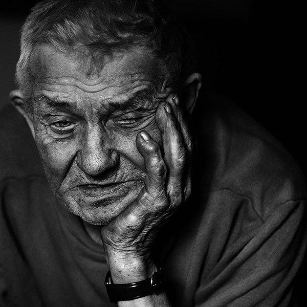 портрет, улица, люди,печник,лица,деревня, Юрий Калинин