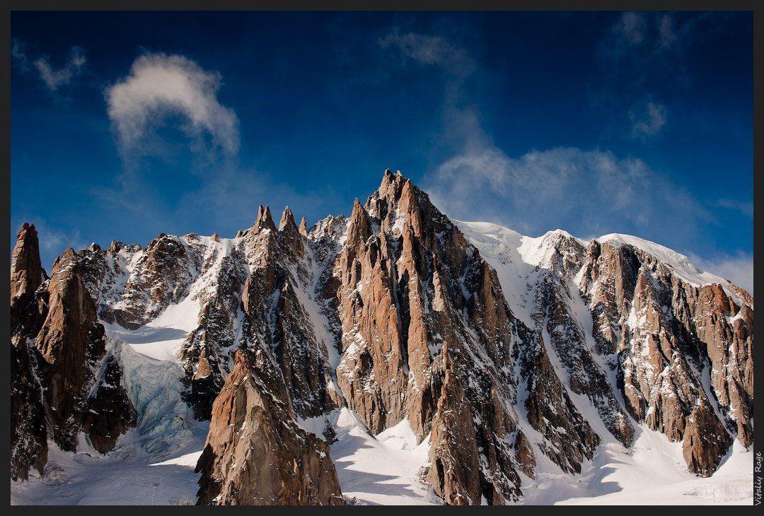 горы, франция, альпы, свобода, облака, закат, путь, выбор, монблан, Vitaliy Rage
