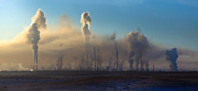 город,завод,облака,дым,экология, Качурин Алексей