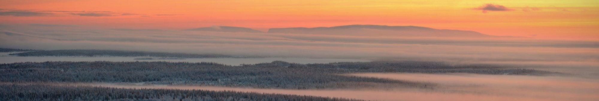кольский, полуостров, зима, locus
