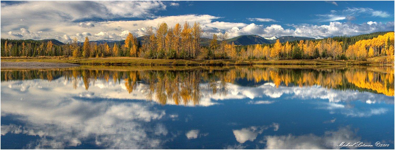 fall, lake, , mountains, Michael Latman