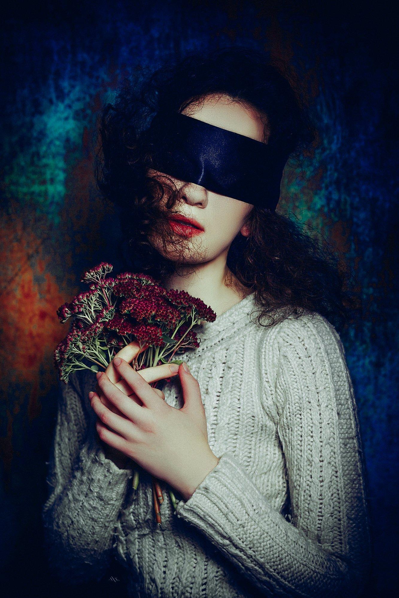 woman, portrait, studio, art, beauty, Руслан Болгов (Axe)