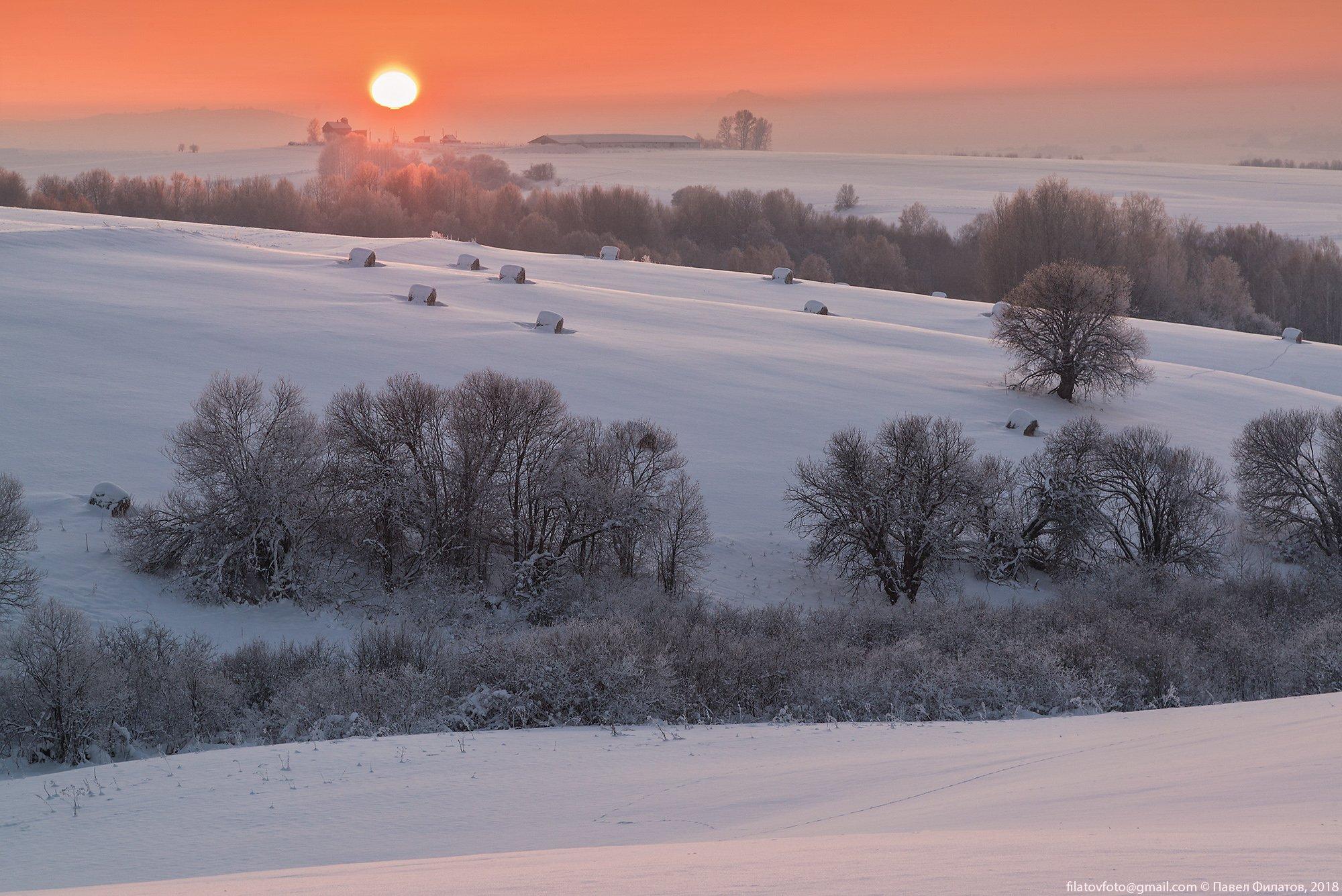 алтай, сибирь, закат, солнце, предгорья, красногорье, Павел Филатов