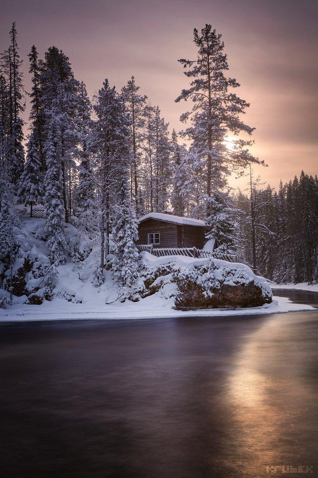 финляндия, лапландия, зима, KrubeK