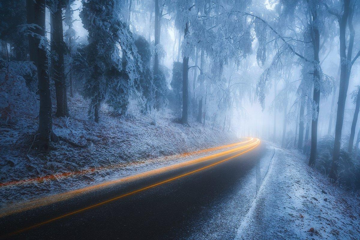 medvednica croatia snow winter trails , Roberto Pavic