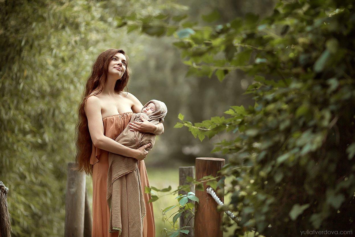 материнство, новорожденный, дитя, ребенок, мать, Юлия Твердова