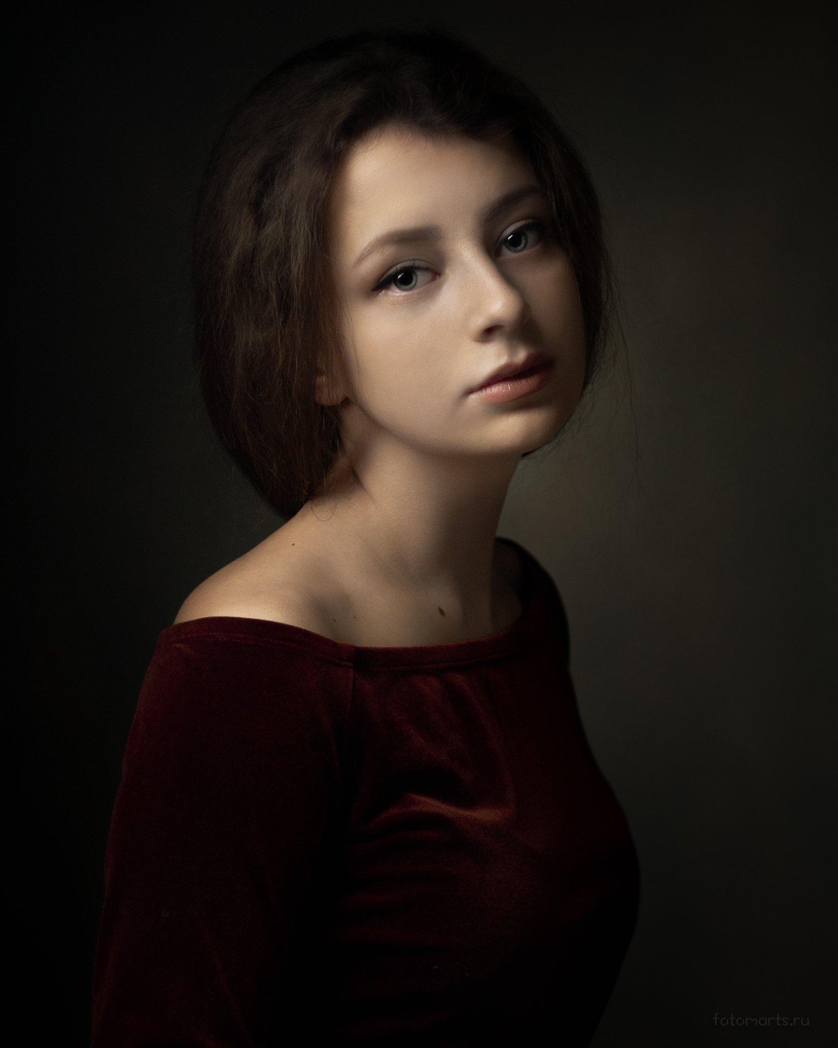 портрет, portrait, Сергей Мартынов