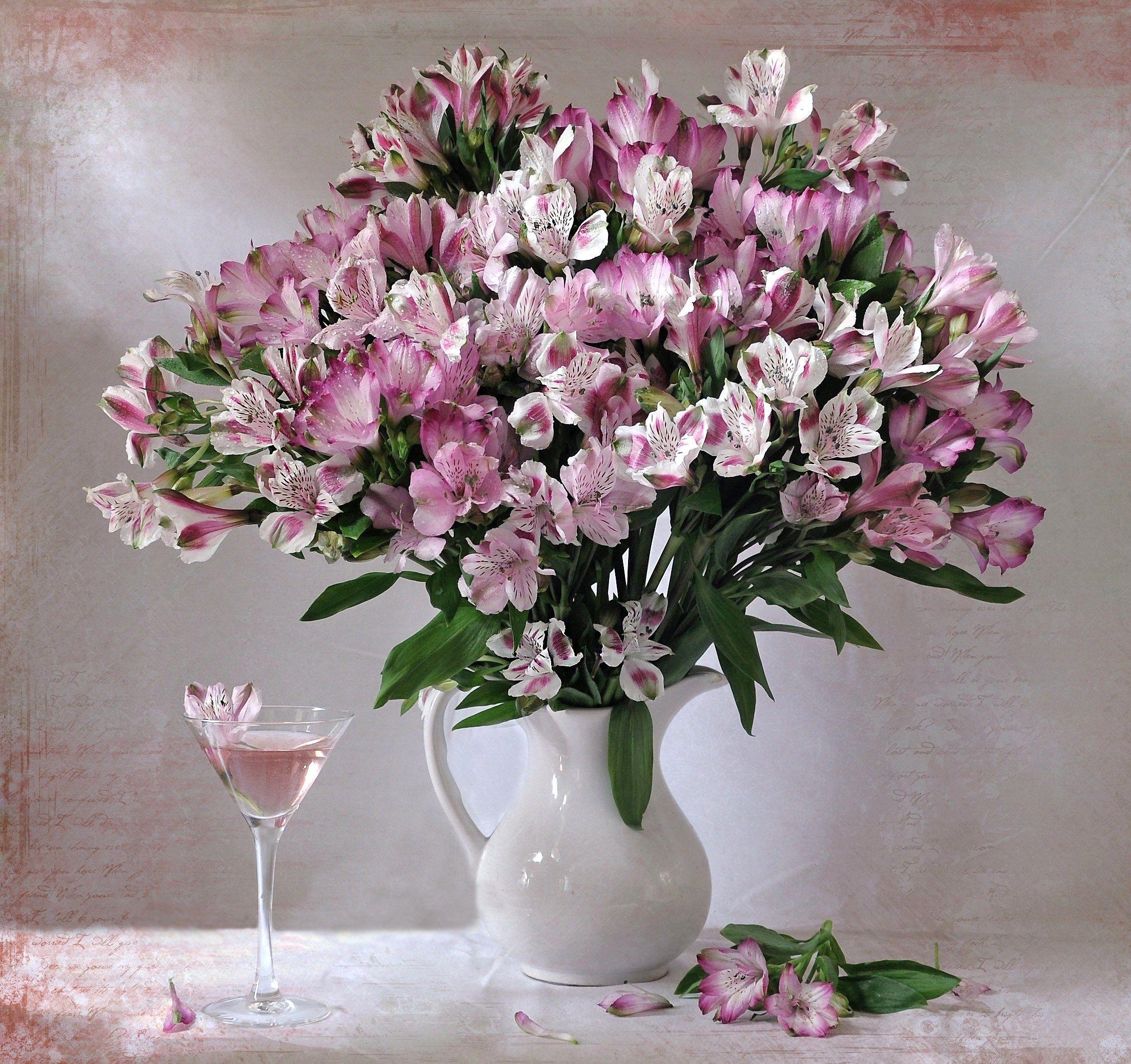 букет, , цветы, , альстромерия, Марина Орлова