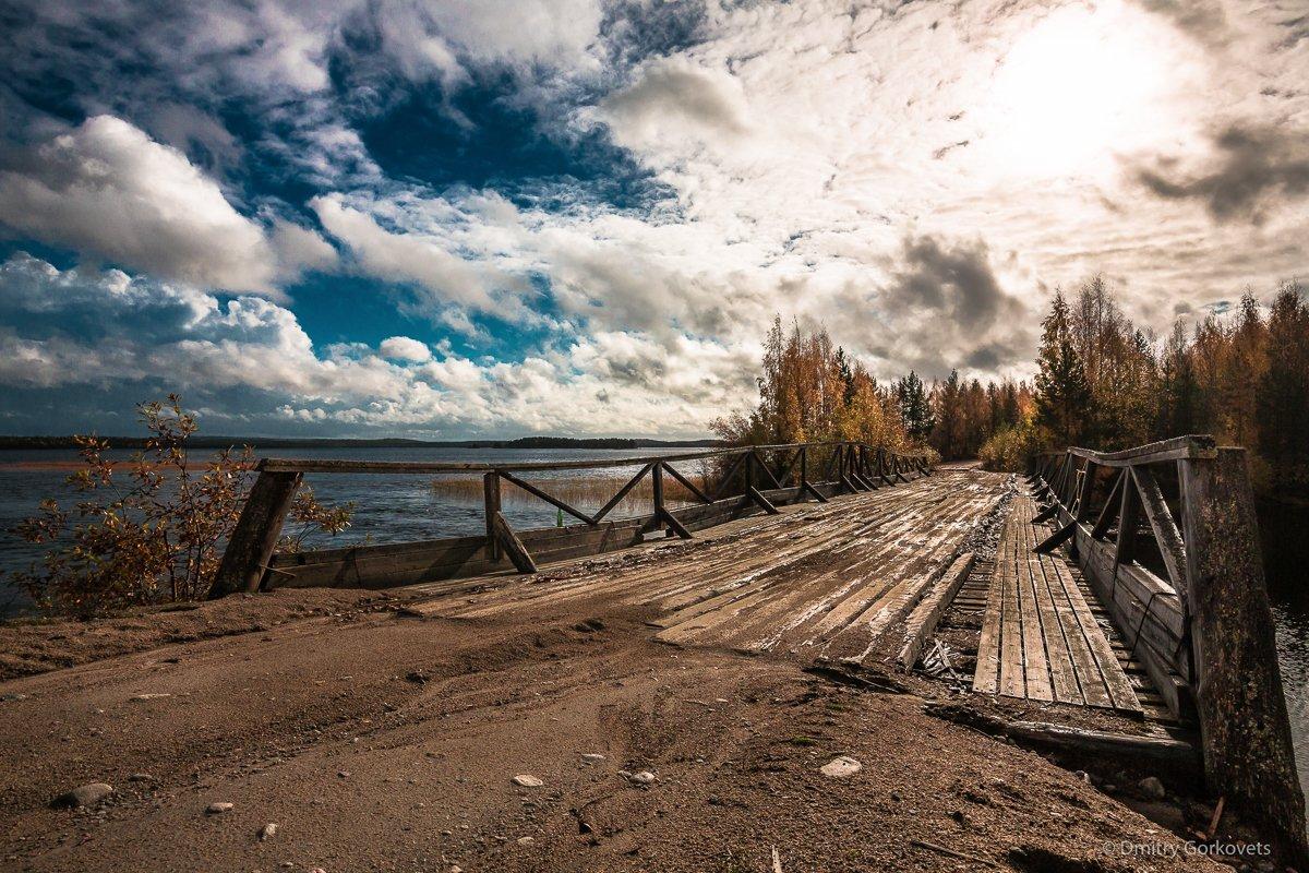 #photobydmitrygorkovets #landscapes #autumn #karelia #russia #bridge, Горковец Дмитрий
