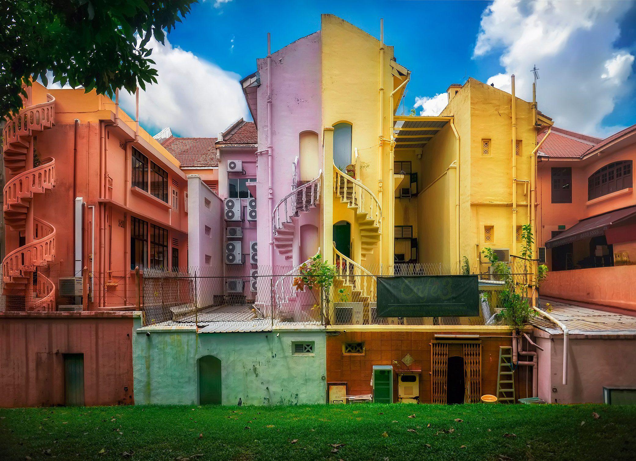 город, архитектура, сингапур, Алексей Ермаков