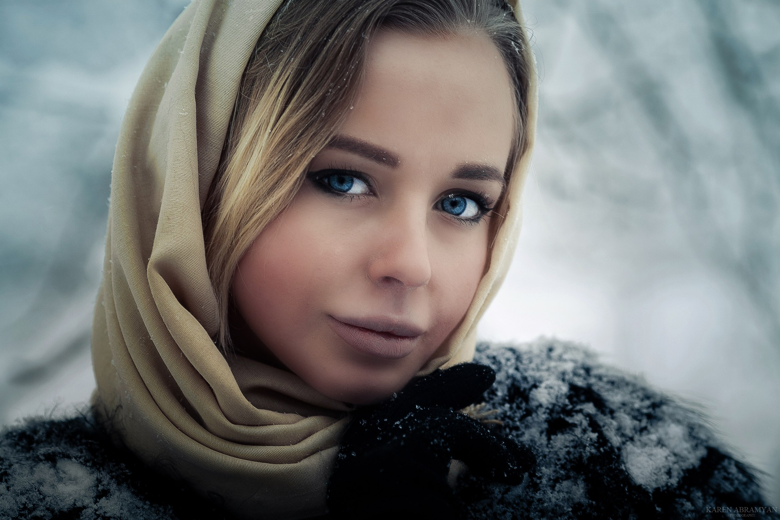 karenabramyan,fashion,portrait,winter,girl,art,eyes, Abramyan Karen