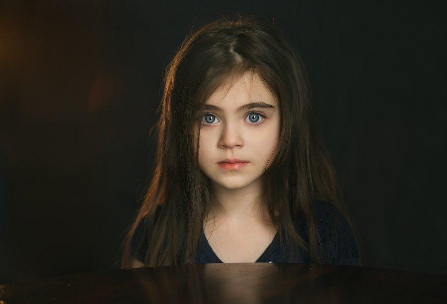 дети, глаза,портрет,девочка,юность,детство, Оксана
