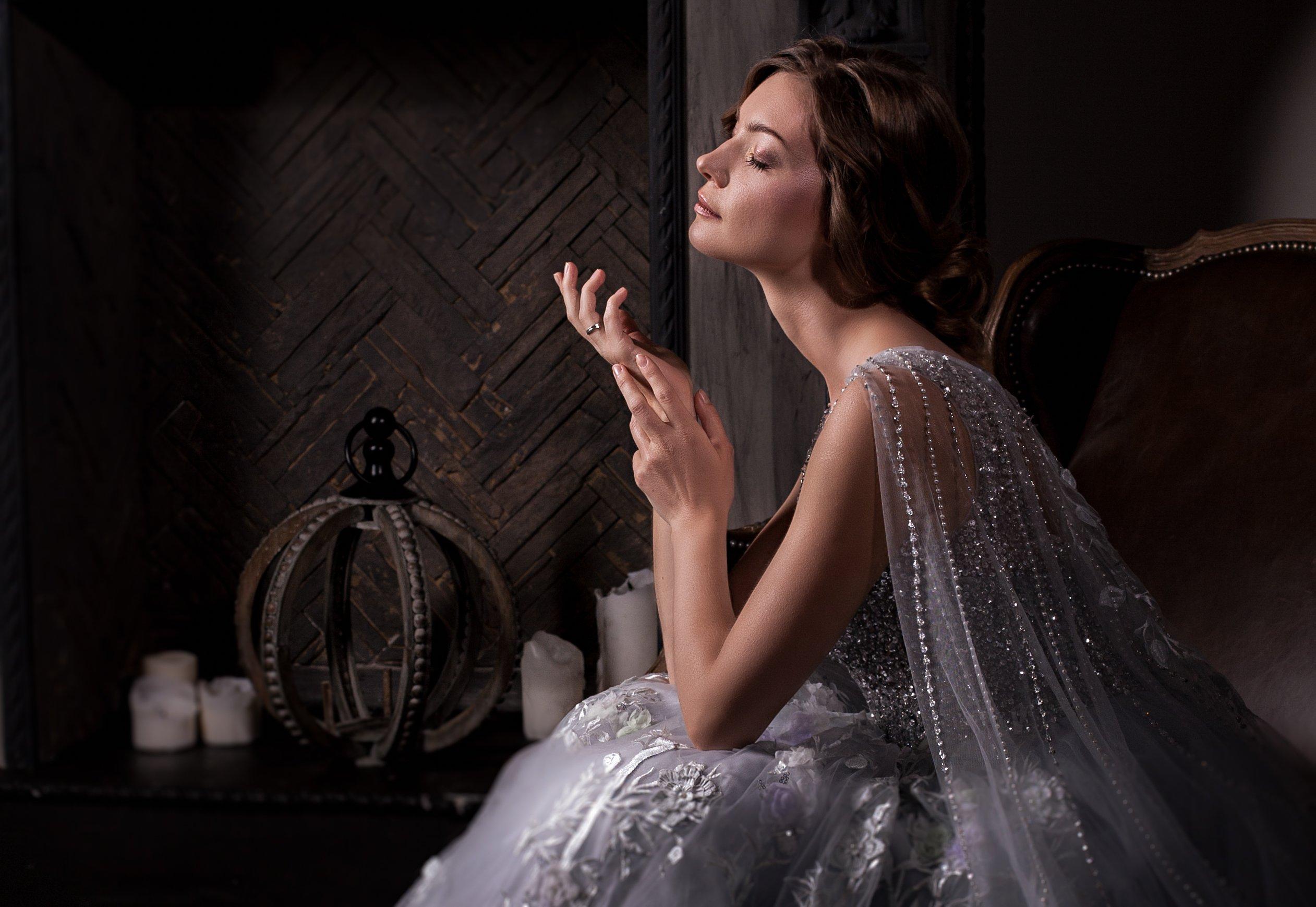 портрет свадебное фото у камина , Валерия Малиновска