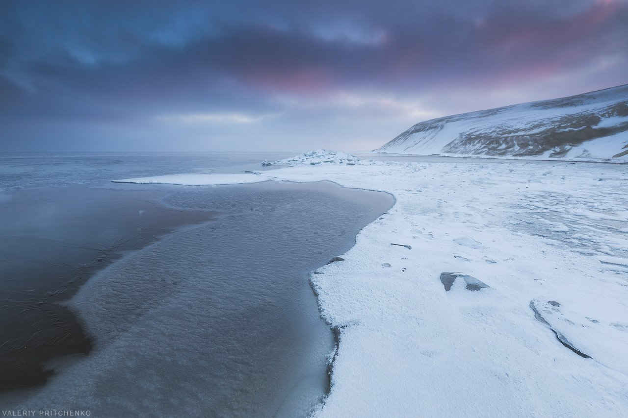 пейзаж, зима, Куршская коса, природа, Валерий Притченко