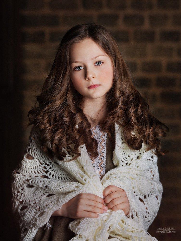 портрет, девочка, глаза, ребенок, ретро, взгляд, алина ланкина, Алина Ланкина